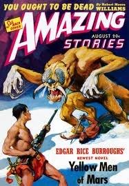 AS - ERB - The Yellow Men of Mars - August-