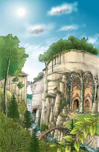 Wood Elven Palace - Eric Faure Brac