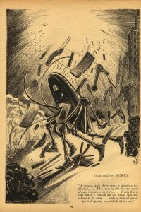 The Lost Machine from April 1932 issue of ASsketch by Leo Morey