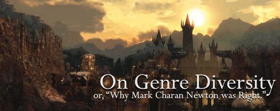 On Genre Diversity by Aidan Moher