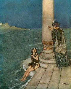 wikipedia.org Edmund Dulac The Mermaid The Prince