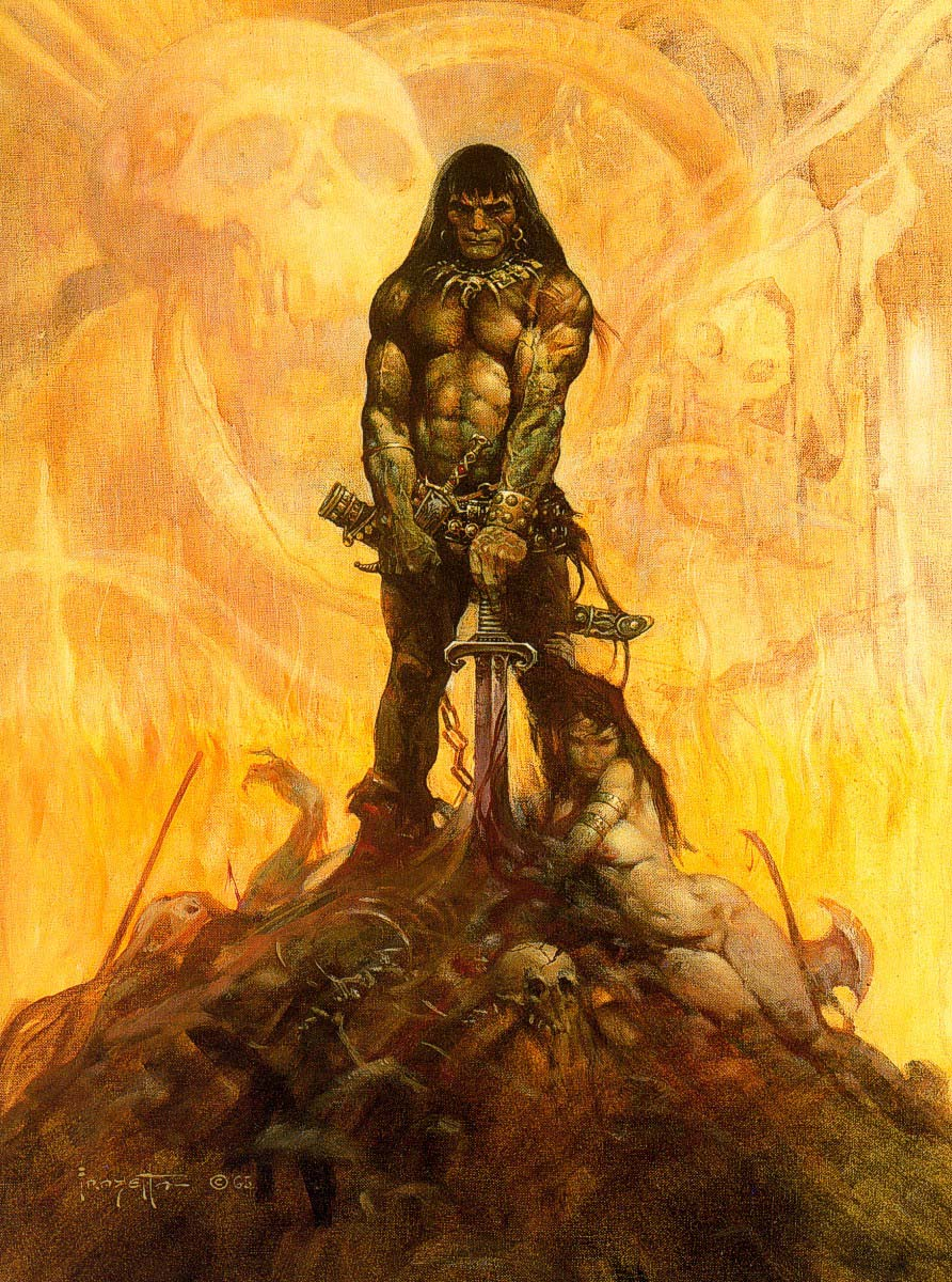 FrankFrazetta-Conan-the-Adventurer-1966