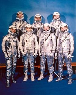 The Mercury Seven (male) Astronauts