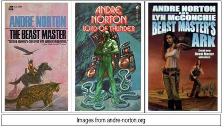 The Beast Master Series by Andre Norton