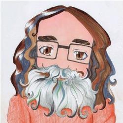 Caricature by Kira Shumski