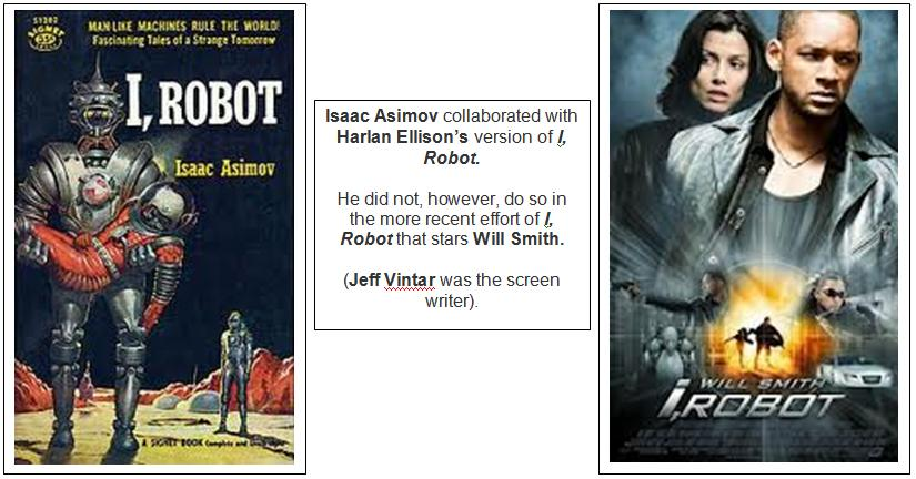 Isaac Asimov - I, Robot book and film