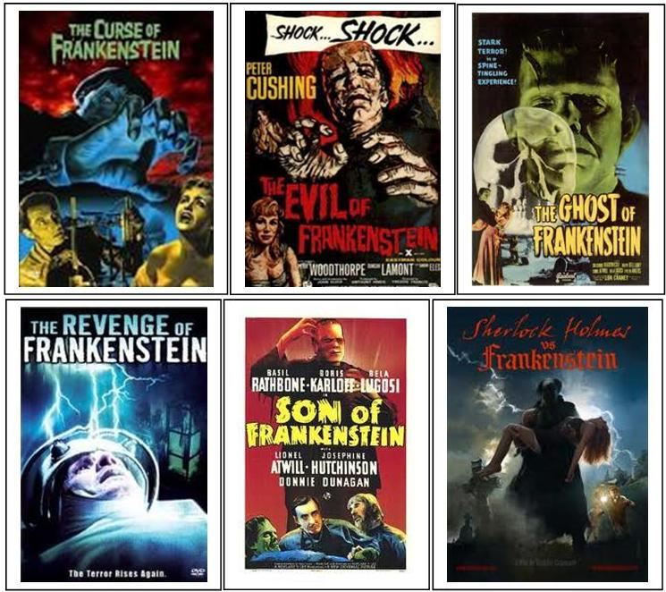 Frankenstein Selected Move Posters 1