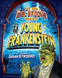 Young Frankenstein - Mel Brooks a musical - (image from io9.com)