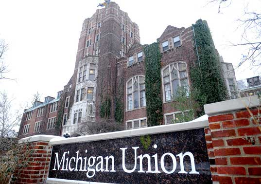 The Michigan Union, where ConFusion — or something — began.