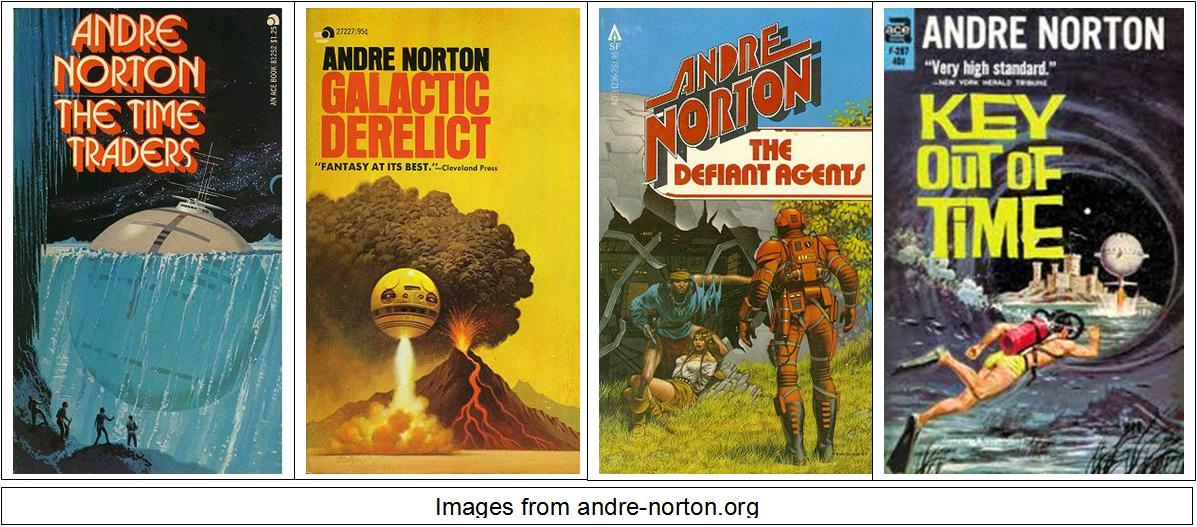 The Time Traders Series by Andre Norton