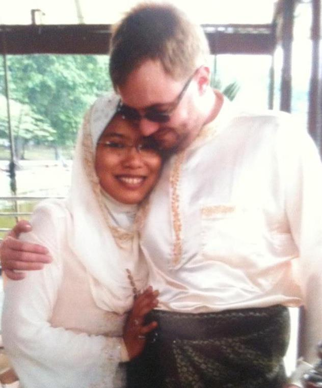Chris Nutall and wife