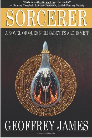 sorcerer geoffrey james book cover