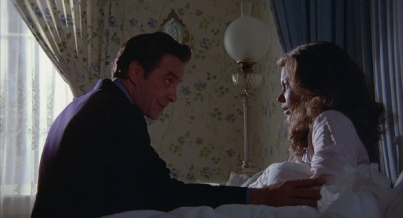 John Cassavetes and Amy Irving in The Fury