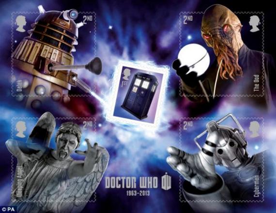 Dr Who sheetlet