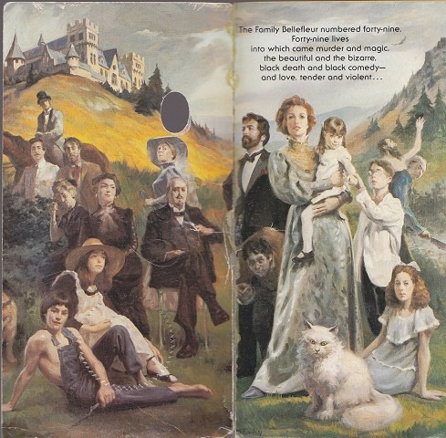 The Bellefleur family - illustration from early US paperback edition