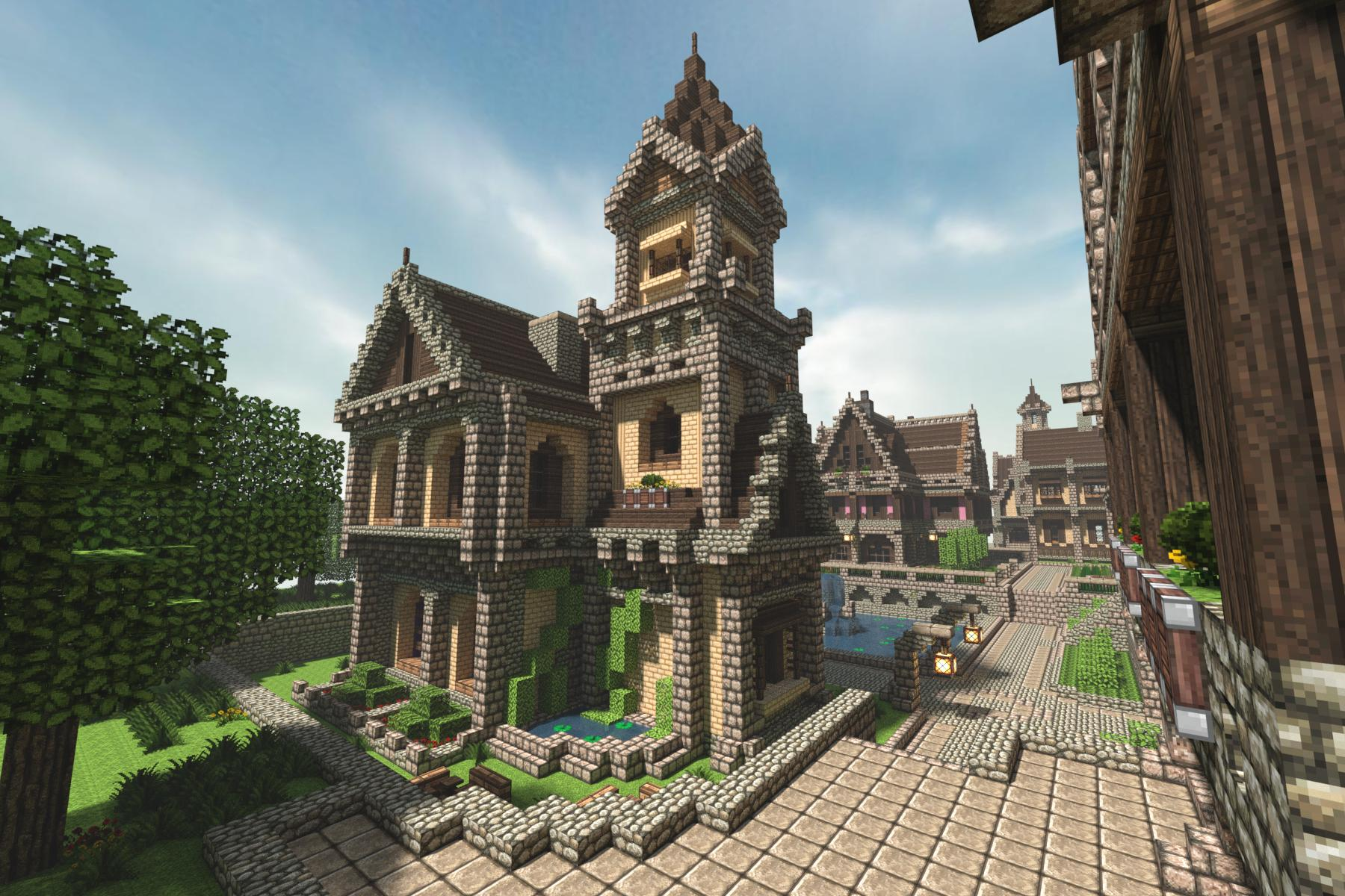 Minecraft House Ideas Minecraft Buildings Medieval House