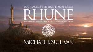Michael Sullivan rhune first empire series