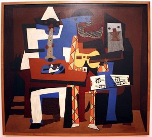 """Three Musicians,"" by Picasso"
