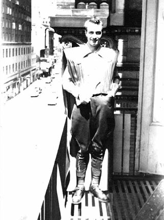 4SJ wearing the first costume to the first Worldcon - 1939