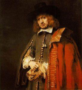 """""""Portrait of Jan Six"""" by Rembrandt"""