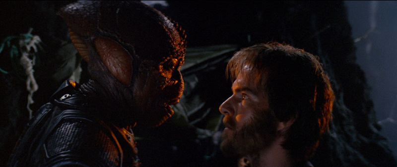 Dennis Quaid and Lou Gossett Jr in the lead roles in Enemy Mine