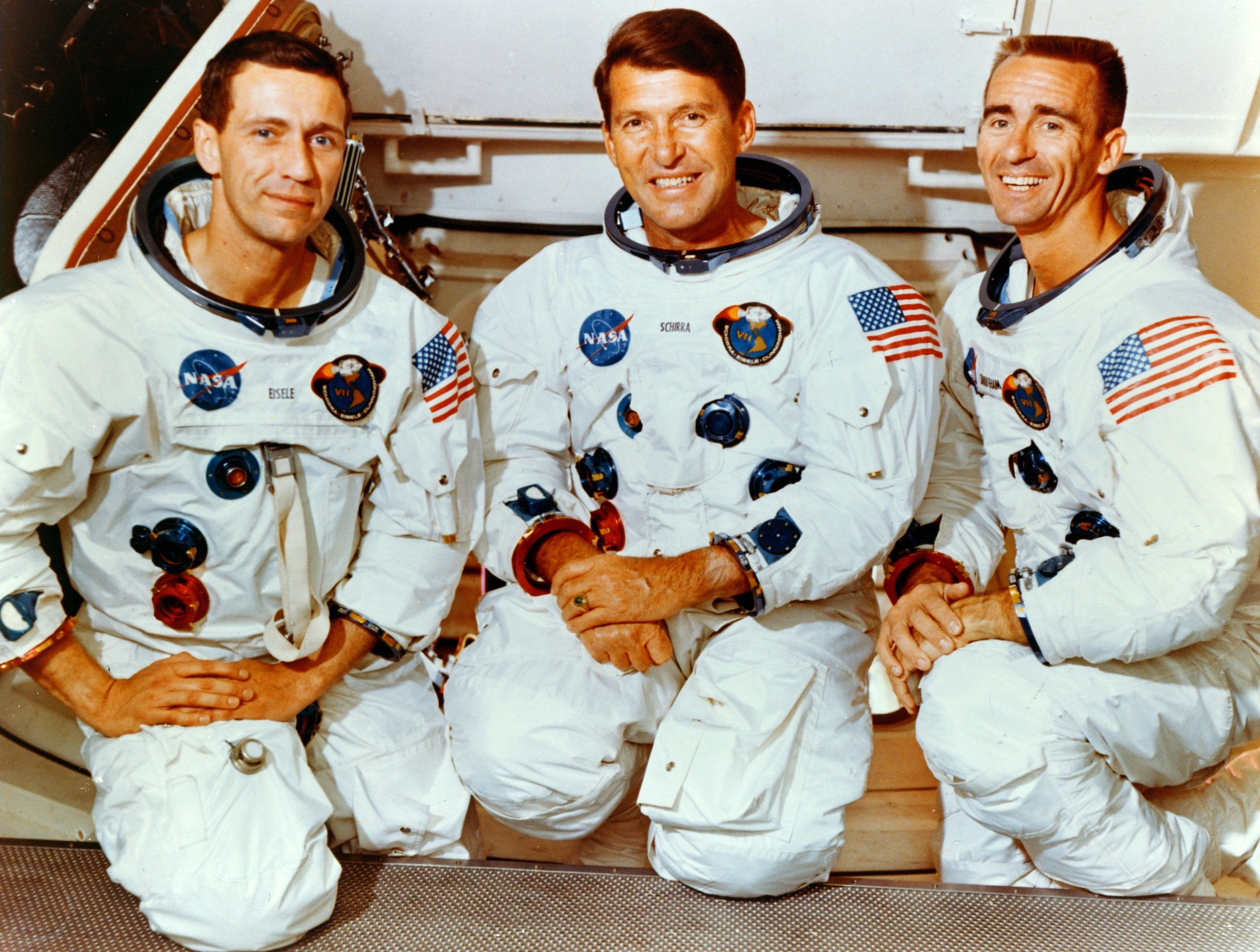 nasa apollo 7 crew -#main