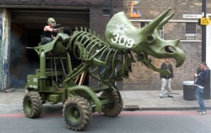 Army-green-309-Triceratops-tractor