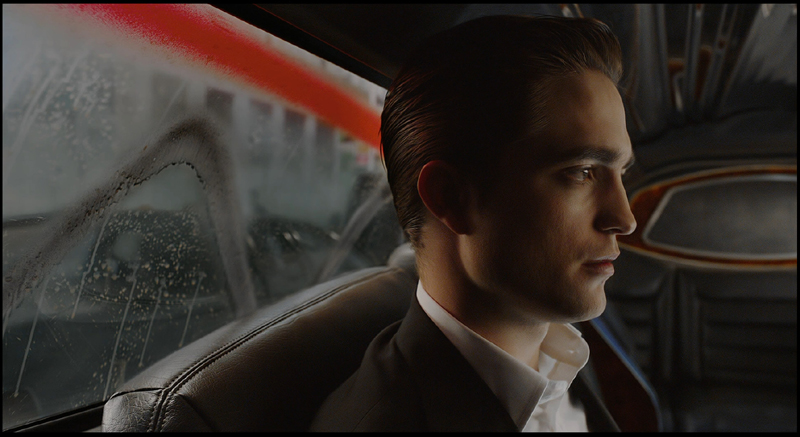 Eric Packer (Robert Pattinson) ignores the protesters