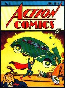 MDJackson_4clrheroes_Superman-First-Comic-Action-Comics-No-1