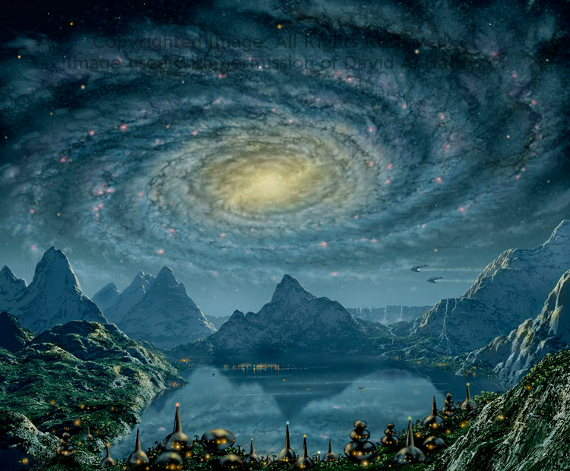 Milky Way 2. Copyright David A. Hardy