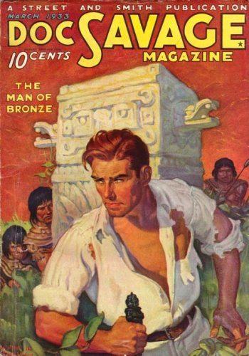 The first incarnation of Doc Savage from1933 (interestingly the same year King Kong hit the screen.)