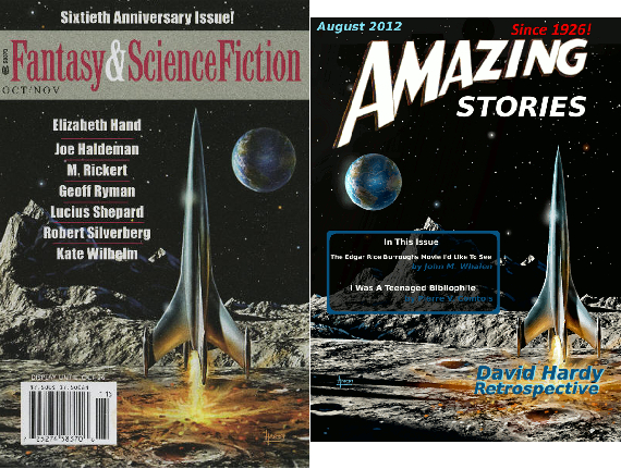 F&SF 60th Anniversary Issue & Amazing Stories, August 2012 Issue
