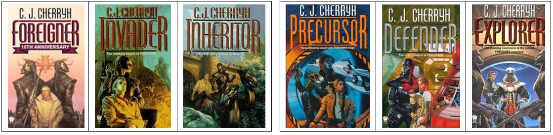 Cherryh - The Foreigner Universe - Trilogies 1 and 2