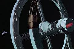 2001 A Space Odyssey - space station.