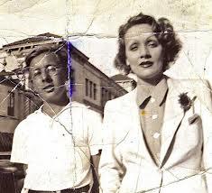Ray Bradbury with Marlene Deitrich