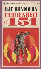 Bradbury - Farherheit 451 Cover Art