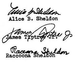 Alice B Sheldon - Pseudonym Signatures