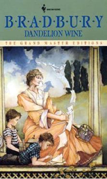 Bradbury and Dandelion Wine cover art