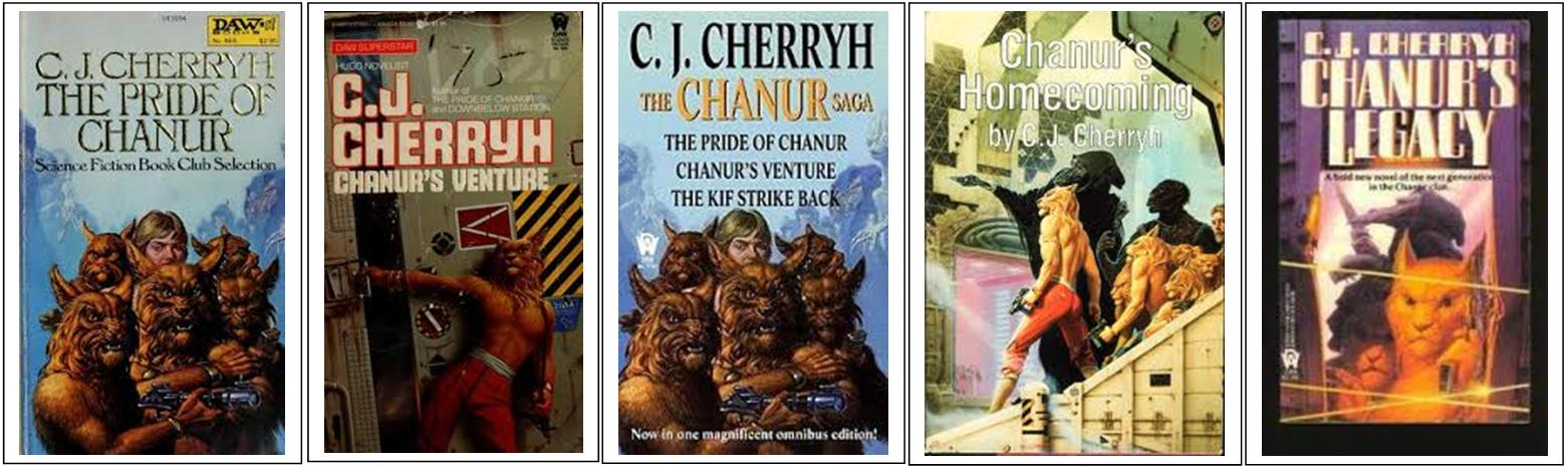Cherryh - The Pride of Chanur Novels