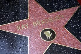 Bradbury & Star on the walk of fame
