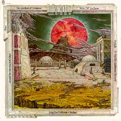 Vinyl Albums, KLAATU and the Warrior at the Edge of Time
