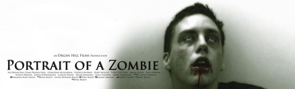Portrait Of A Zombie by Bing Bailey