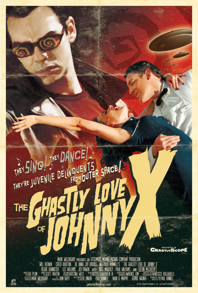 The Ghastly Love of Johnny  X by Paul Bunnell