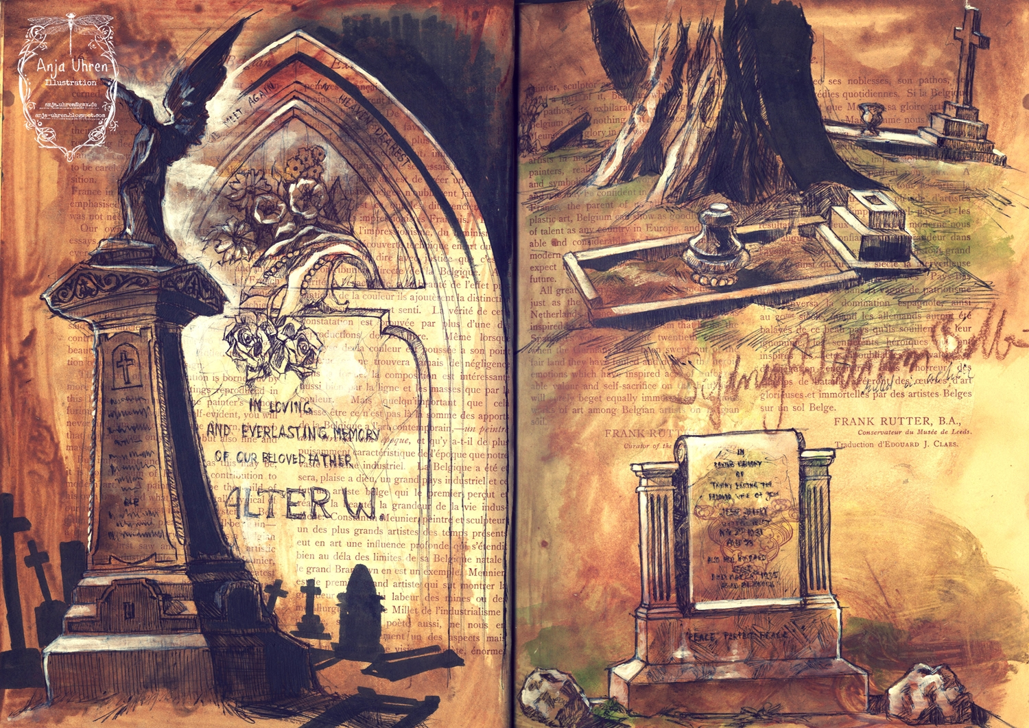 Graveyard - inspired by Bournemouth's main cemetery