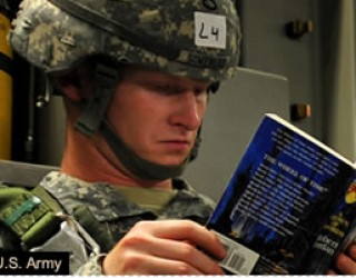 From the In Box: 5/26/13 – Sharing Books with Soldiers