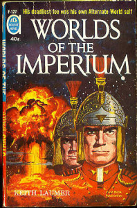 "Ed Valigursky ""Worlds of the Imperium"" Ace double cover, 1962"