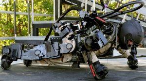 Raytheon's XOS Exoskeleton