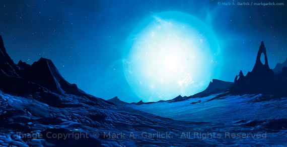 Giant Image Copyright © Mark A. Garlick.  All Rights Reserved.