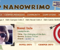 Camp NaNoWriMo: Doing the Prepwork