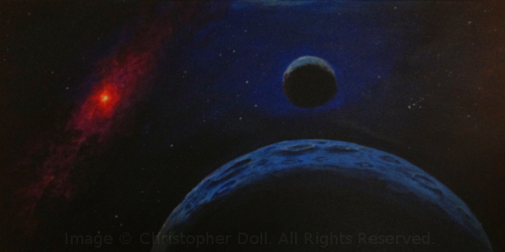 Binary Planets. Image Copyright © Christopher Doll. All Rights Reserved.